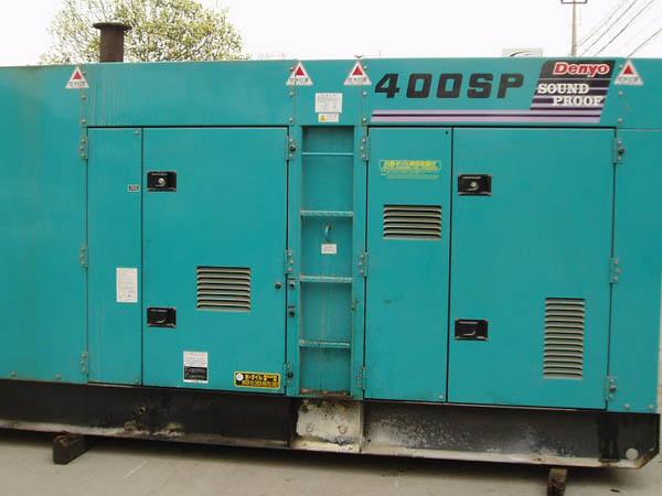 出售320kw日本小松静音发电机